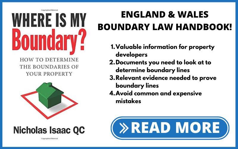 ENGLAND & WALES BOUNDARY LAW HANDBOOK