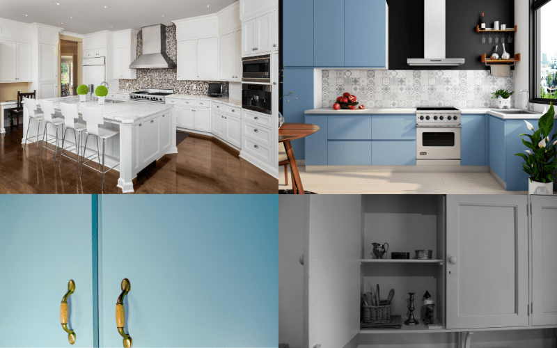 Paint or Replace Kitchen Cupboard Doors
