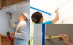 Straight Edge Paint Lines - Example