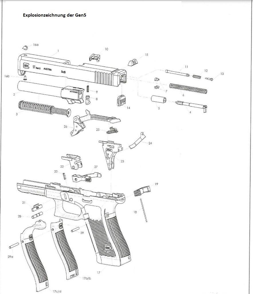 Ersatzteile Original : Alle Ersatzteile für Ihre Glock
