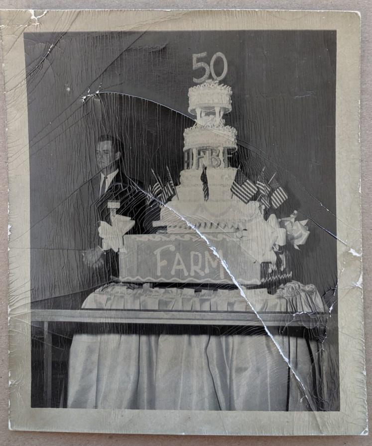 WFBF's 50th anniversary cake.