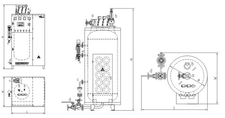 LDR0.2 Integrated electric steam boiler