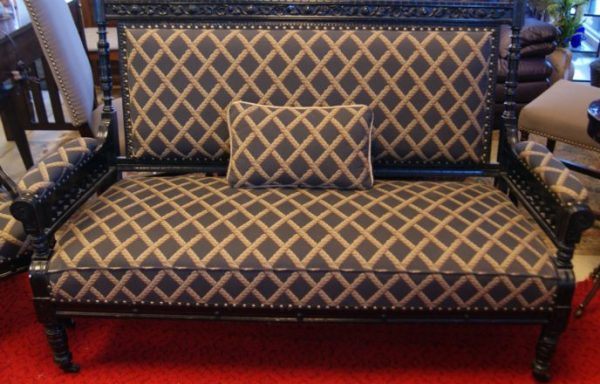 Eastlake Antique Settee Love Seat And Chair Priced Separate