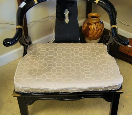 Asian Ming Horseshoe Back Arm Chair