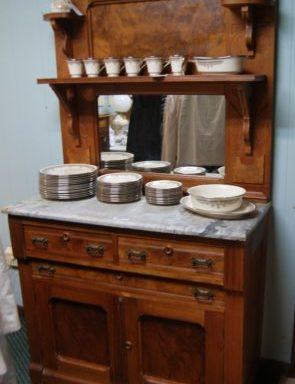 Eastlake Antique Hutch