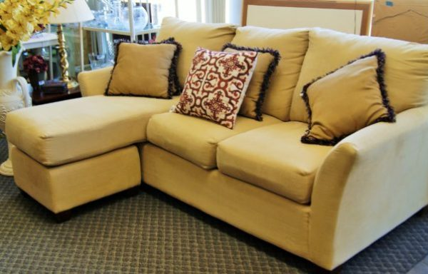 2 Piece Sofa Couch With Chaise