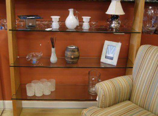 Contemporary Open Display Shelf Unit