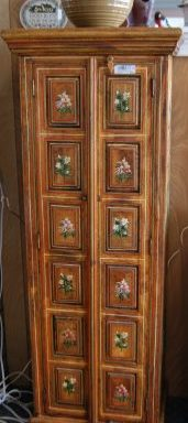 Hand Made Painted Cupboard Cabinet