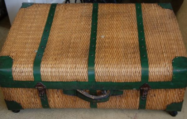 Rattan Luggage Coffee Table