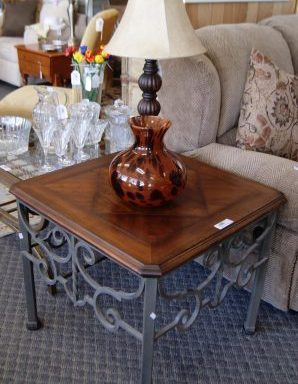 Modern Side Table and Coffee Table Priced Separate