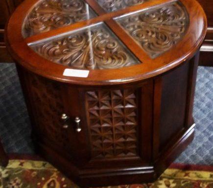 2-Vintage Side Tables Priced Separate