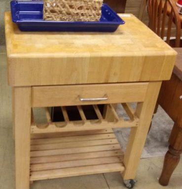 Kitchen Cart Butcher Block