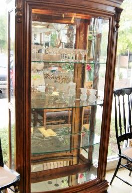 2-Display Curio Cabinets Priced Separate
