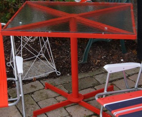 Vintage Outdoor Table