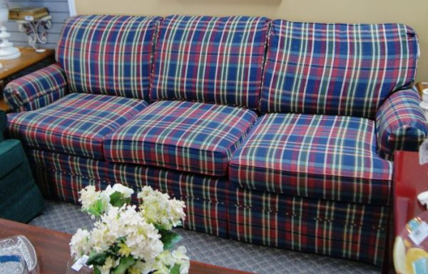 Plaid Sofa Couch