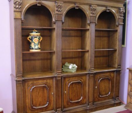 Library Shelf Wall Unit