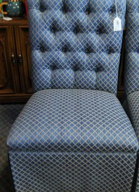 2-Tufted Button Parsons Chairs Priced Separate