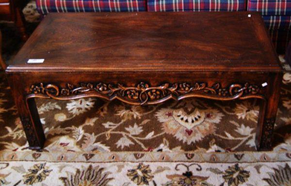 Semi Ornate Coffee Table