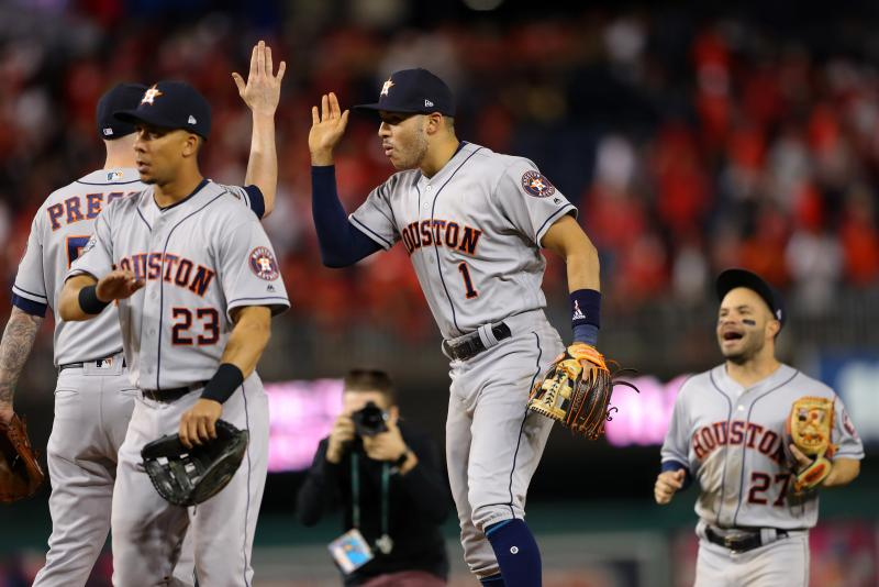Houston Astros Take 3 2 World Series Lead Over Washington