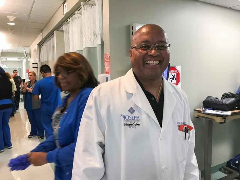In A Houston Emergency Room It Was A Week Like No Other  885 WFDD