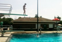 Standing Edge Of Diving Board Create