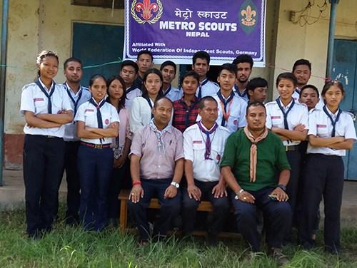 Scouts in Nepal