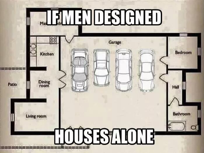 What If Men Were Totally In Charge Of House Design? – WFLA's Home