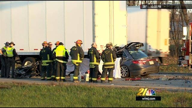 Fatal Crash Brings Three Hour Traffic Jam On I 80 In