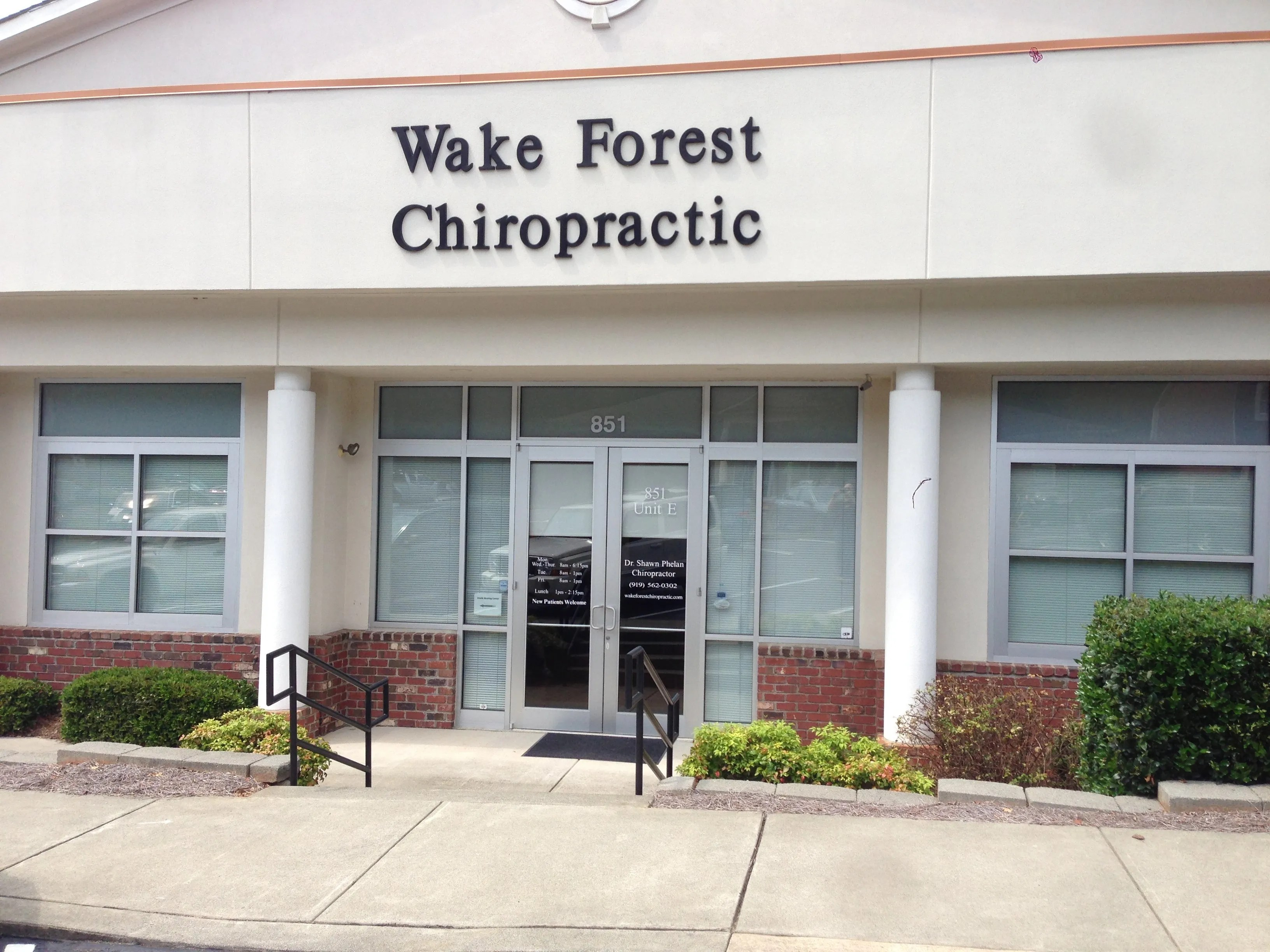 Wake Forest Chiropractic is a Great Place to Straighten Yourself Out