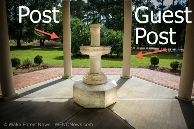 How do you tell a post from a guest post?
