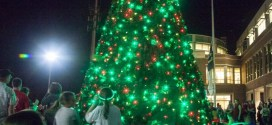 Wake Forest Mayor Lit at Christmas Tree Party