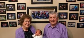 Illinois couple welcomes their 100th grandchild