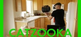 Your Daily Feel Good Video – Catzooka – Cat Launcher!