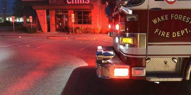 Fire at Chili's Attacked by WFFD