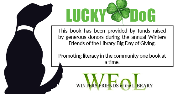 Lucky Dog Label for Lucky Day Collection at Library