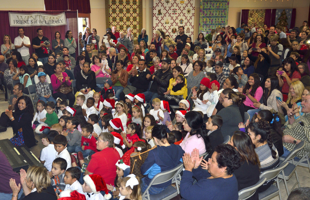 Don't miss the Winters Friend of the Library Family Holiday Festival, December 3, Saturday, from 10 AM to 2 PM. Admission is Free. WFoL.org