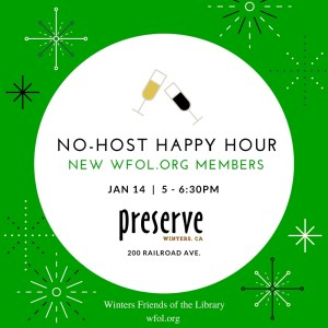 Happy New Year with a No-Host Volunteer Happy Hour
