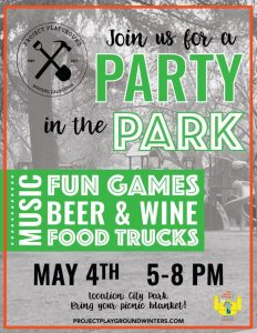 Party in the Park on May 4, 2017- Celebrating Collaboration and Play for #BDOG2017