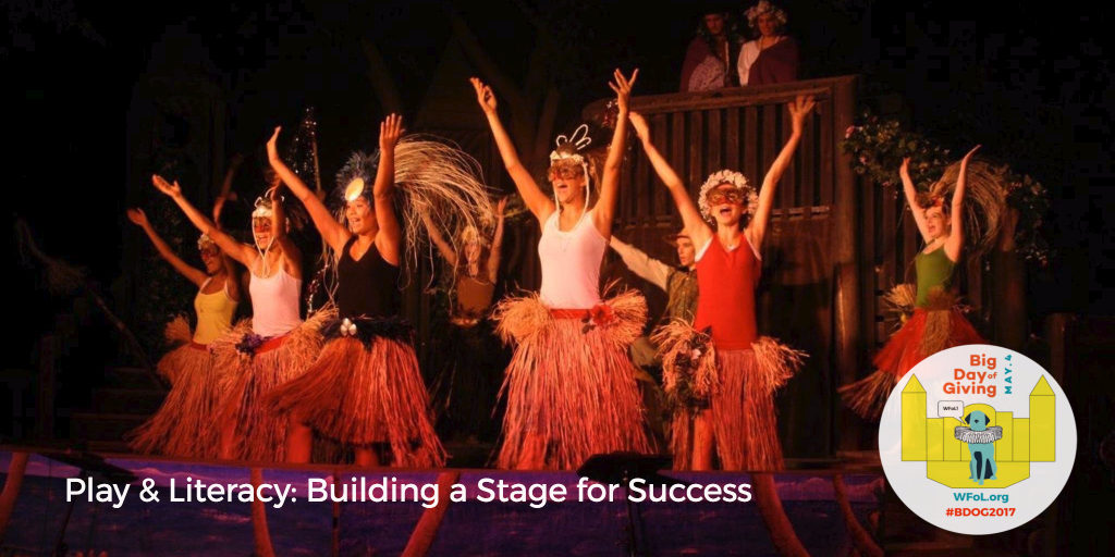 Play & Literacy Building a Stage for Success #BDOG2017. Photo by Woody Fridae