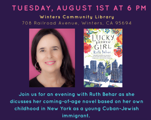 Ruth Behar Author Visit August 1