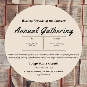 You're invited to our Annual Gathering!