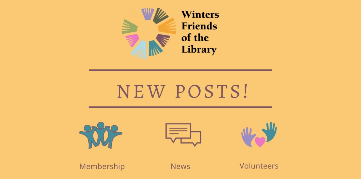 Winters Friends of the Library News and Posts