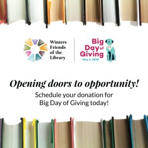 5 Reasons to Donate to Winters Friends of the Library