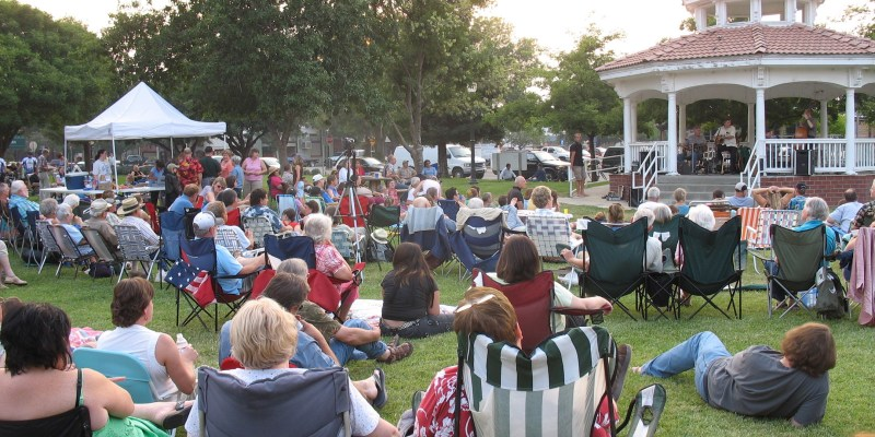 Winters Friends of the Library Gazebo Concerts 2019