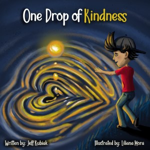 Author Jeff Kubiak of One Drop of Kindness will speak Nov 4 at Winters Friends of the Library Annual Gathering