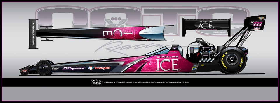 Leah Pritchett Sparkling ICE Top Fueal Dragster
