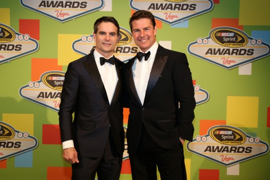 during the 2015 NASCAR Sprint Cup Series Awards Show at Wynn Las Vegas on December 4, 2015 in Las Vegas, Nevada.