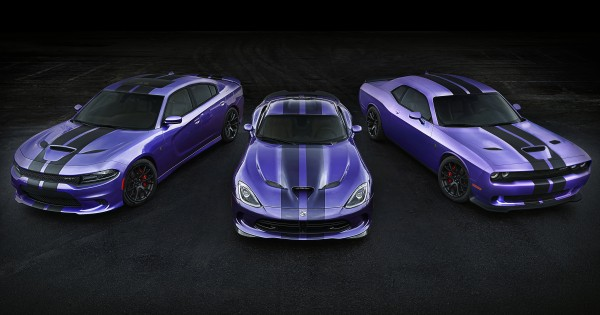 2016 Dodge Charger SRT Hellcat, Viper SRT and Challenger SRT Hel