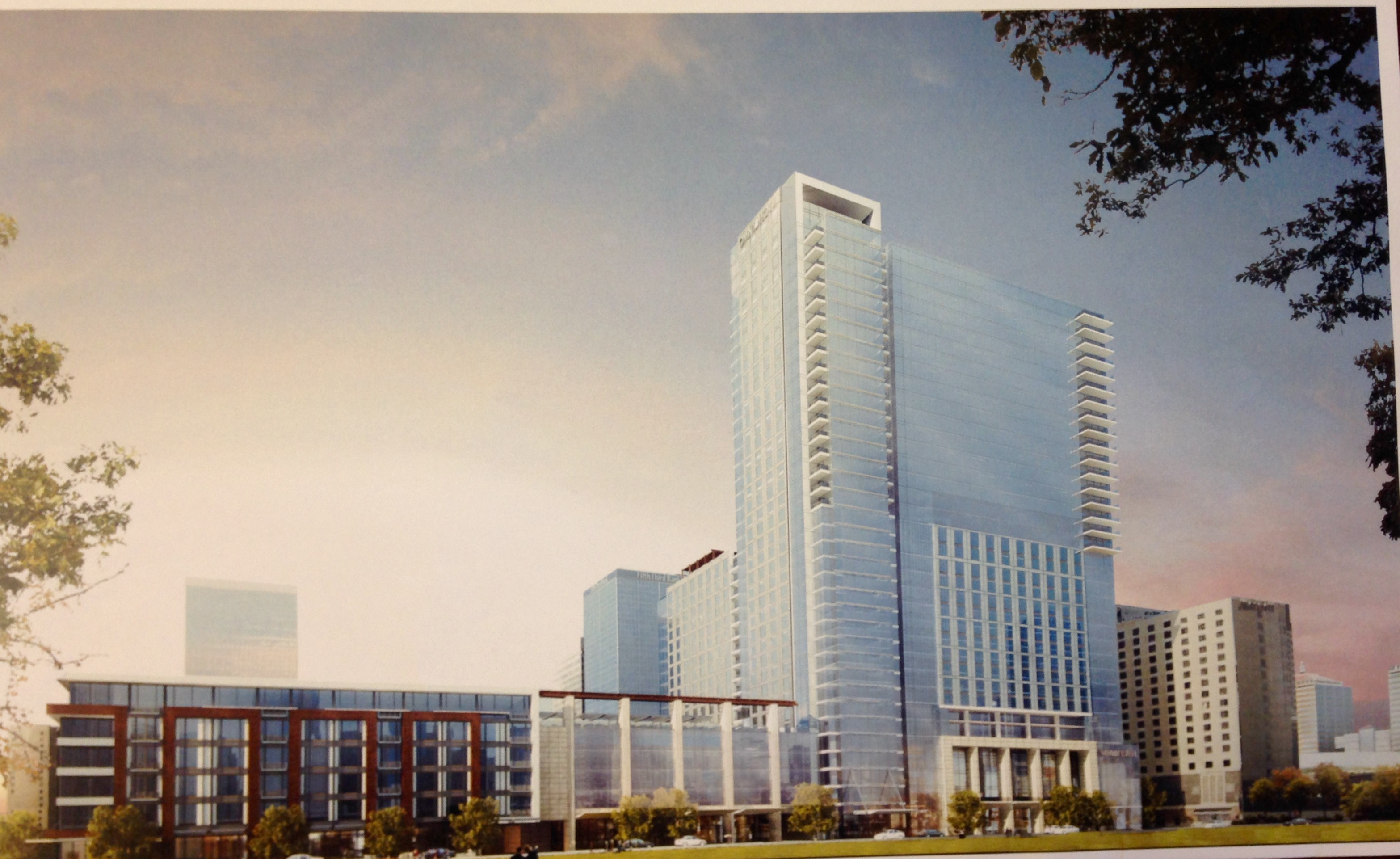 omni hotel finalizes deal to begin construction in louisville the project is estimated to create 765 construction jobs 20 percent minority and 5 percent w owned business participation and 320 permanent