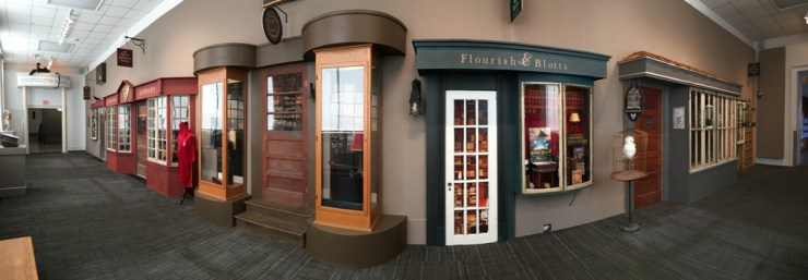 """""""Diagon Alley"""" at Louisville Free Public Library"""